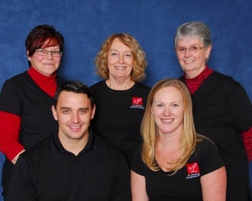 St. Lawrence Chiropractic Clinic staff